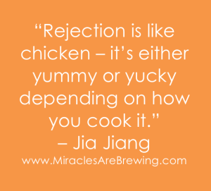 Rejection is like chicken, jia jiang, rejection therapy