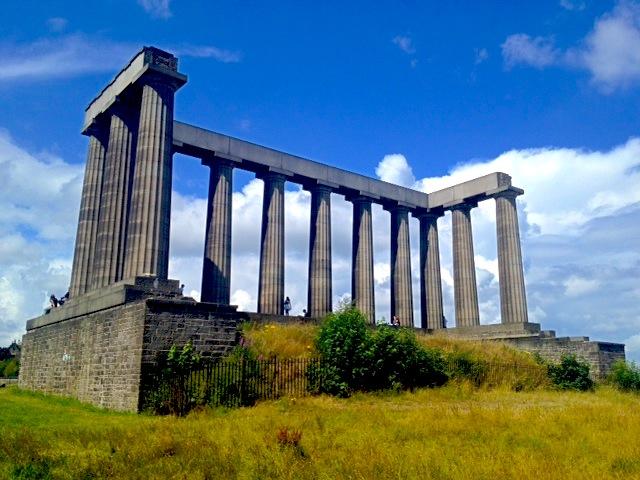 Edinburgh National Monument Scotland