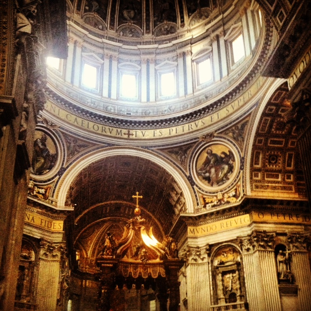 St. Peter's Basilica, Vatican, Rome Italy