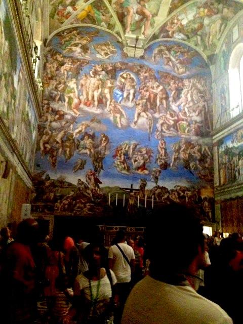 Michelangelo Sistine Chapel, Rome Itay