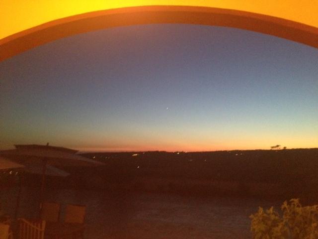 Sunset from Santa Marinella Italy