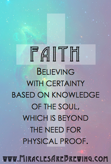faith is, what is faith