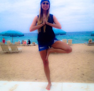 carly benson handling stress yoga