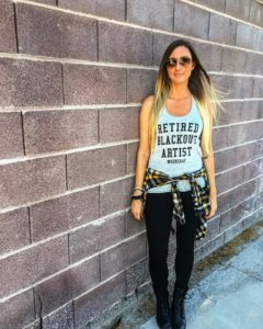retired blackout artist carly benson sobriety principles