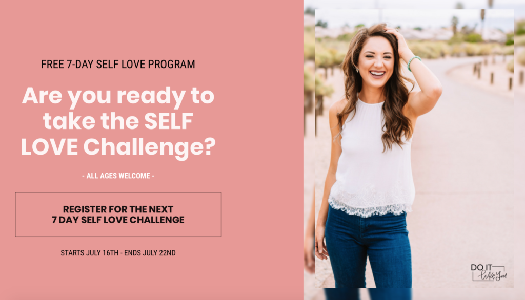 amanda silvas self love challenge